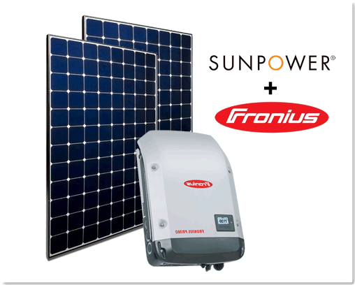 Sunpowerand fronius Deal