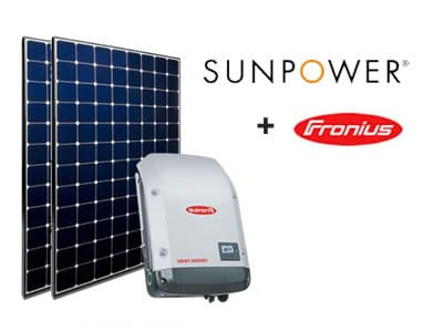 Sunpower 327w and Fronius