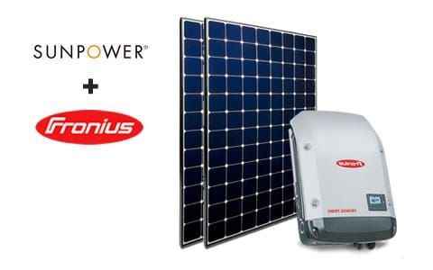 sunpower+Fronius