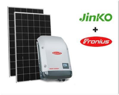 Jinko + Fronius