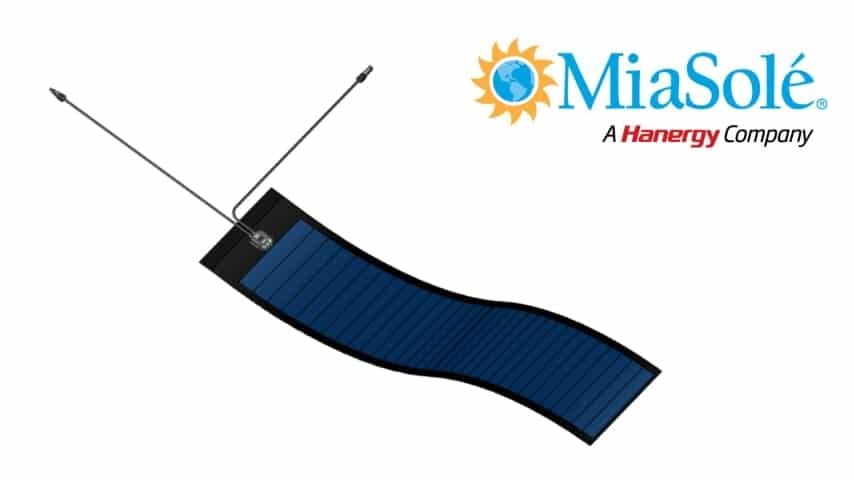 Power Boost For MiaSolé Flexible Thin Film