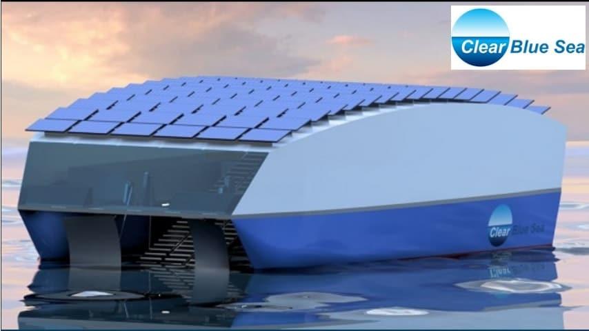 Solar Powered Floating Robot