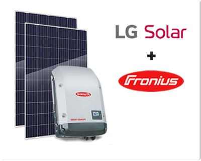 LG Solar and Fronius