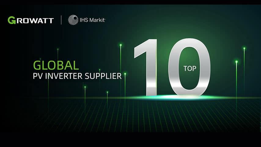 Growatt Into Global Top 10
